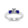 emerald-cut-diamond-engagement-ring-with-blue-sapphire-in-14K-white-gold-FDENR264EMRGSABLANGLE5-NL-WG